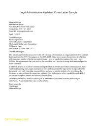 Elegant Legal Assistant Cover Letter Sample B4 Online Com