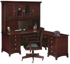 shaped computer desk home office. L Shaped Desk Home Office Brown Gray Wooden Shape With Keyboard Shelf Also . Computer D