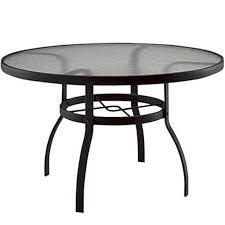 wonderful outdoor dining table with umbrella hole round glass top patio table with umbrella hole icamblog