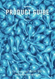 Rodan And Fields Pricing Chart 2018 Rodan Fields Usa Product Guide 2017 2018