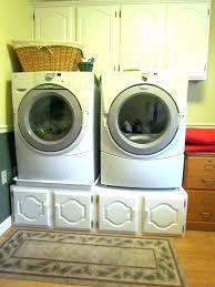 diy laundry pedestal washer and dryer pedels washer a dryer s pedestlluryard size washer dryer closet diy laundry pedestal