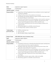 Breathtaking Resume For Application Support Engineer 21 About Remodel Easy  Resume Builder With Resume For Application