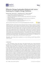 Complex Design Problems Pdf Inductive Design Exploration Method With Active