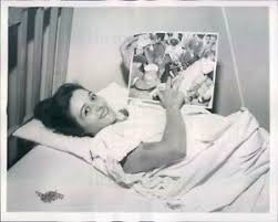 1953 Press Photo Cleveland OH Eleanor Rinaldi Injured in Explosion ...