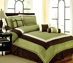 brown and green comforter set full google search bedroom theme olive bedding sets serene on a