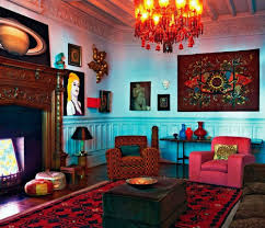 30 Colorful Bohemian Living Room Ideas For Inspiration  DECORATHINGBohemian Living Rooms