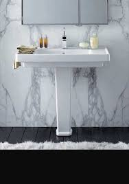 art deco basin and pedestal  on art deco wall tiles uk with art deco bathroom suites uk livinghouse