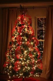 Christmas Tree Ribbon Decorating Ideas 2015
