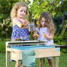 tp pour play wooden mud kitchen