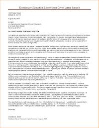 Teacher Cover Letter Sample Cover Letter Example Of A Teacher With A Passion For Teaching