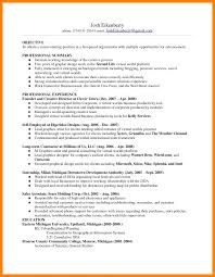 Cv Objective How To Write A Good Resume Line Best Online Janitor