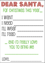 Christmas Wish List Santa Letters And Gift Tags Pins I Love