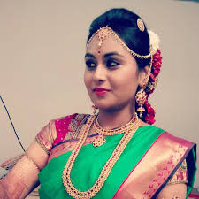 bridal makeup artist in m a most special day for any bride in life is her wedding day creating a south indian look is a must for any bride book