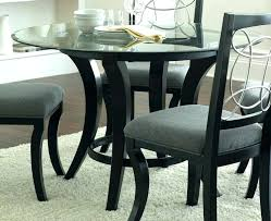 dining tables small glass dining table set kitchen tables round black di