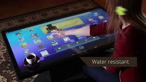 Computer Coffee Table Table Top Computer Microsoft Has Built A New Touch Screen Coffee