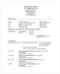 9 Superintendent Resume Templates Pdf Doc Free