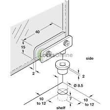 pivot hinge door. 90 degree glass door pivot hinge - for inset doors, 6.8mm thickness, o