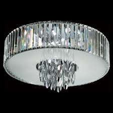 trans globe mdn 1140 small 18 inch diameter polished chrome crystal ceiling lighting loading zoom
