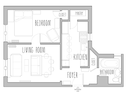 Small Picture Download Small House Floor Plans Under 500 Sq Ft buybrinkhomescom
