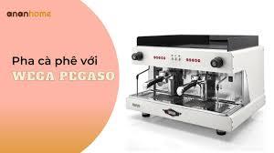 Cách sử dụng máy pha cà phê Wega Pegaso - YouTube