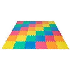 rainbow interlocking eva foam baby mat playmat children crawling