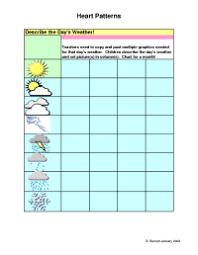 Weather Chart Template For Construction Weather Chart Template For Construction 9 Best Images