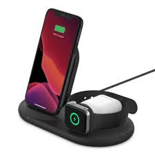 <b>3-in-1 Wireless</b> Charger for iPhone, Apple Watch, Airpods | Belkin