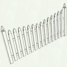 picket fence drawing. Wood Fence Drawing At Getdrawings Com Free For Personal Use Picket