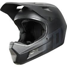 Fox Downhill Mtb Helmet Rampage Comp Matte Black