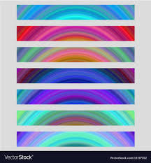 free banner backgrounds set of colorful web banner backgrounds royalty free vector