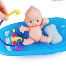 2017 baby doll in bath tub with duck bathroom accessories set kids pretend play intl lfzomzqt