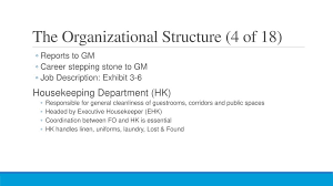 Chapter 3 Hotel Structure Ppt Download