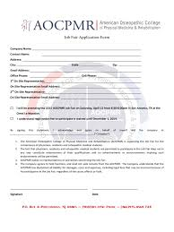 job fair registration form 2 templates in pdf word excel job fair application form american osteopathic college