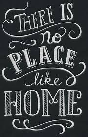 There Is No Place Like Home House Decor Pinte Amazing Chalkboard Quotes