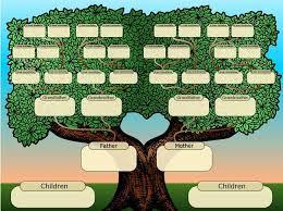 Family Tree Templates Kids Family Tree Templates Download Free Family Tree Templates From