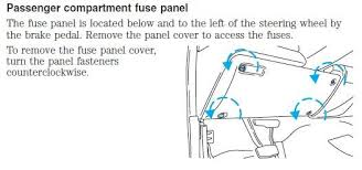 solved need to locate flasher turn signal on 1999 f350 fixya f 250hd f 350 and f super duty models and under the center section of the instrument panel in the relay flasher block on all other models