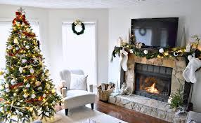 Living Room Christmas Living Room Handmade Christmas Decorations Christmas  Kitchen Decor Best Fireplace Xmas Bedroom Decorations