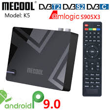 <b>MECOOL K5</b> DVB-S2 <b>DVB</b>-<b>T2</b> Smart Tv Box Android 9.0 Amlogic ...