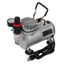 com multi purpose professional airbrush kit with 3 dual action spray airbrushes compressor 6 air hose brush holder ta