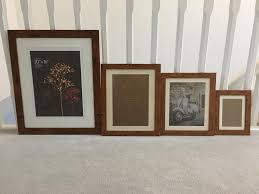selection of 14 matching picture frames