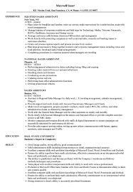 Sales Assistant Resume Sample Sales Assistant Resume Samples Velvet Jobs 1