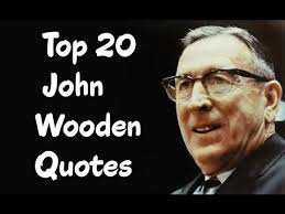 John Wooden Quotes Cool Top 48 John Wooden Quotes Author Of Wooden YouTube