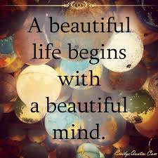Beautiful Life Quotes Magnificent Quotes Images A Beautiful Life Begins With A Beautiful Mind