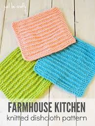 Dishcloth Knitting Patterns