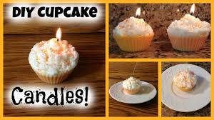 Diy Candles Diy Cupcake Candles Youtube