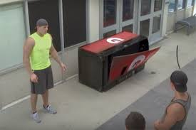 Gatorade Vending Machine Commercial Impressive JJ Watt Manning Brothers Made Students Sweat In Amusing Gatorade