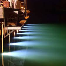 boat underwater led dock lights