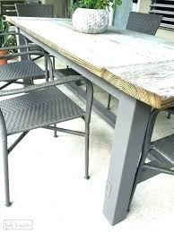 rustic outdoor dining table rustic outdoor table large size of patio large outdoor dining table large