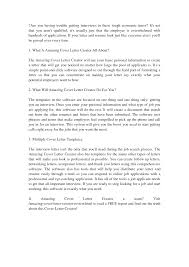 Resume Cover Letter Builder Resume For Your Job Application