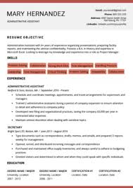 Free Modern Executive Resume Template Free Downloadable Resume Templates Resume Genius